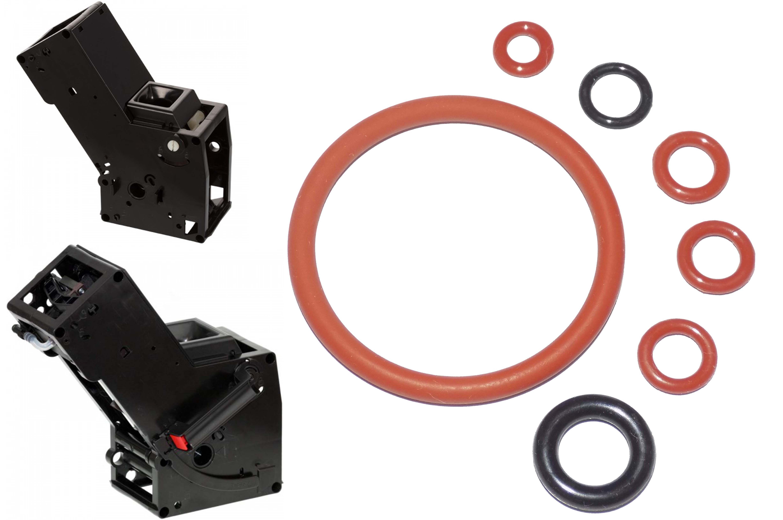 Набор уплотнителей заварного устройства Bosch / Siemens / Melitta / Nivona