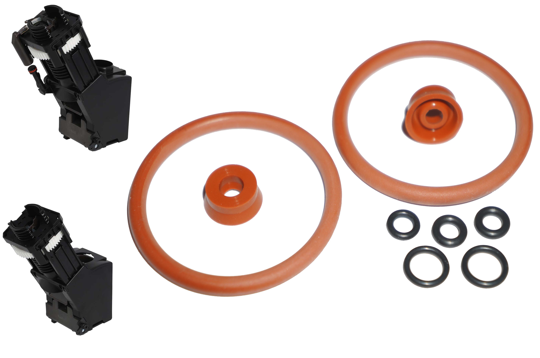 Набор уплотнителей заварного устройства и дренажного клапана Jura / Krups / AEG